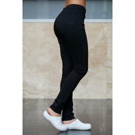 Savannah super stretch nohavice Black